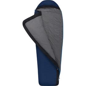 Sea to Summit Trailhead TH III Saco de Dormir Normal Ancho Cremallera Izquierda, azul